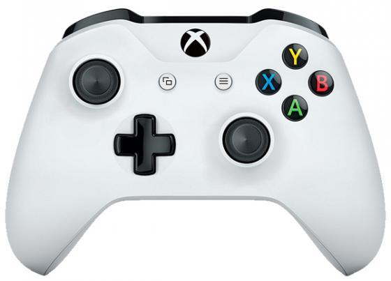 Геймпад Беспроводной Microsoft TF5-00004 белый для: Xbox One геймпад беспроводной microsoft controller for xbox one [tf5 00004] [xbox one] белый
