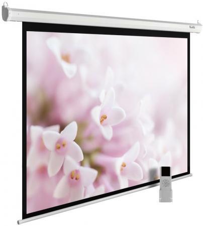 Экран Cactus 240x240см MotoExpert CS-PSME-240x240-WT 1:1 настенно-потолочный рулонный белый (моторизованный привод) цена и фото