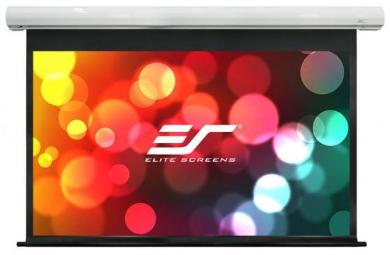 Экран Elite Screens 125x222см Saker electric SK100XHW-E12 16:9 настенно-потолочный рулонный экран настенный elite screens 152x152см m85xws1 ручной mw белый