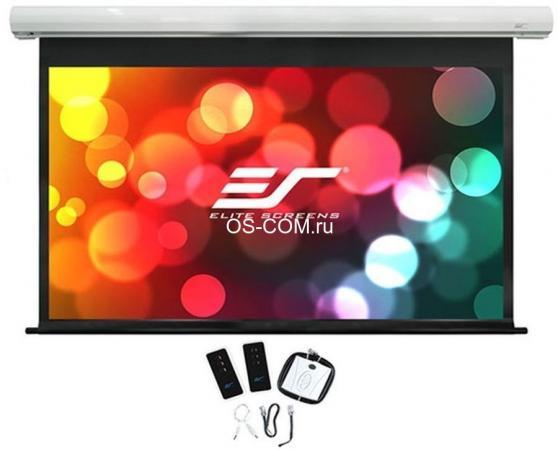 Экран Elite Screens 137x244см Saker electric SK110XHW-E12 16:9 настенно-потолочный рулонный экран настенный elite screens 152x152см m85xws1 ручной mw белый