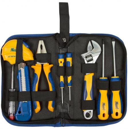 цена на Набор инструмента KRAFT KT 703000 9 предметов в сумке