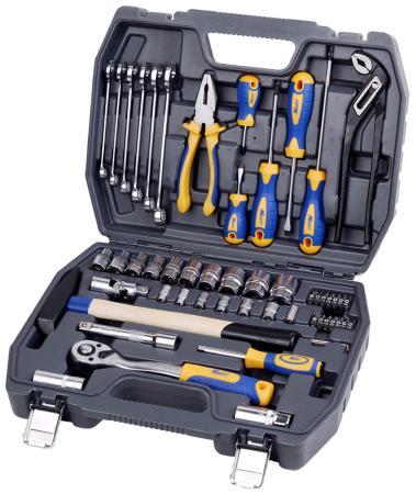 Набор инструментов KRAFT КТ 700303 1/2DR и 1/4DR 56пр.