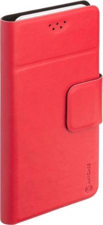 Чехол Anycase (флип-кейс) DEPPA Anycase Wallet, для универсальный 5.5-6.5, красный tchui красный универсальный