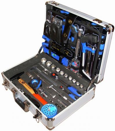 Набор инструмента UNIPRO U-135 универсальный, 135 предметов, в кейсе кувалда unipro 1250 г