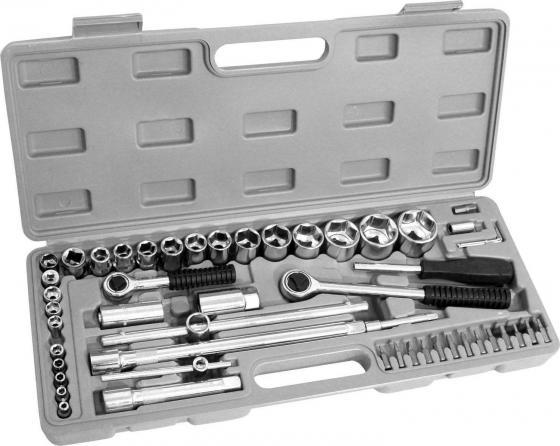 Набор инструментов KROFT 203052 ремонтный 1/2 52предм. уровень kroft 102101