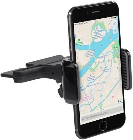 Подставка для телефона Deppa Crab CD для смартфонов шириной 55-85 мм, крепление в CD-слот, Deppa 55153 подставка для телефона deppa mage mini для смартфонов магнитный крепление на вент решетку графит deppa