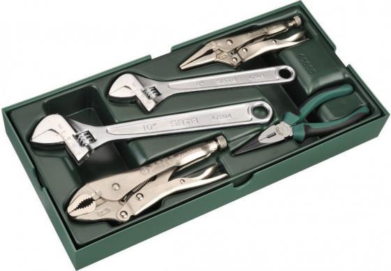 Набор ключей SATA 09909 разводные+щипцы 5пр. набор ключей sata 09101a
