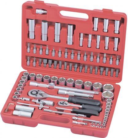 Набор слесарно-монтажный MATRIX 13580 с квадратами 1/4 1/2 94 предм. hand tool set matrix 13580