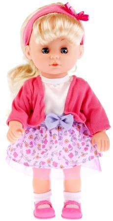 Кукла КАРАПУЗ КУКЛА КАРАПУЗ 30СМ 30 см поющая карапуз кукла рапунцель со светящимся амулетом 37 см со звуком принцессы дисней карапуз