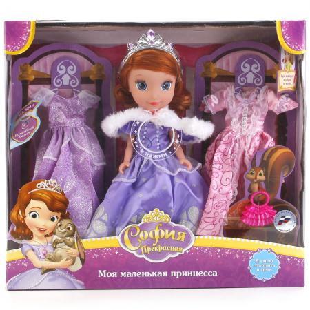 Кукла КАРАПУЗ DISNEY ПРИНЦЕССА 25 см со звуком SOFIA005 куклы и одежда для кукол карапуз кукла принцесса ариэль 25 см
