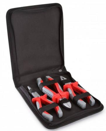 Набор инструментов КВТ 67374 3предмета изолированные до 1000В переставные изолированные клещи квт 250 мм до 1000в 61436