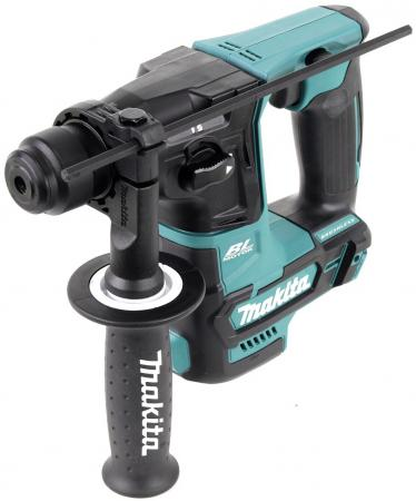 Перфоратор акк MAKITA HR166DZ SDS+ б\\щет, 10.8В, Li-ion(слайд), 2реж, 1.1Дж, 0-4800у\\м перфоратор акк makita hr166dwae1 sds б щет 10 8в 2х2ачli ion 2реж 1 1дж 0 4800у м 64 насадк