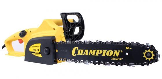 Пила цепная CHAMPION 118 1800Вт шина 14 цепь 3/8-1.3мм-52 пила цепная champion 324n