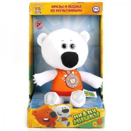 МЯГКАЯ ИГРУШКА МУЛЬТИ-ПУЛЬТИ МЕДВЕЖОНОК БЕЛАЯ ТУЧКА 25СМ (М/Ф МИ-МИ-МИШКИ), ОЗВУЧ. в кор.6шт мягкая игрушка мульти пульти медвежонок белая тучка 25см м ф ми ми мишки озвуч в пак в кор 24шт