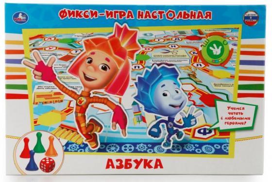 Настольная игра ходилка УМКА Фиксики цена в Москве и Питере