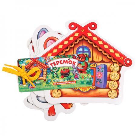 РАЗВИВАЮЩИЕ КАРТОЧКИ НА ШНУРКЕ УМКА ТЕРЕМОК в кор.60шт развивающие игрушки стеллар пирамида теремок