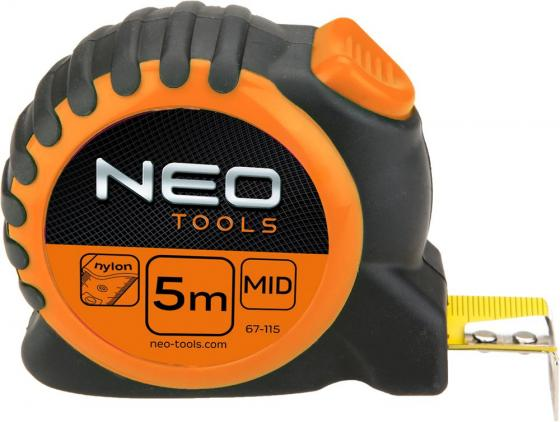 Рулетка NEO 67-115 5мx25мм самокат limit lmt 06 neo chrome 2017