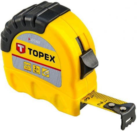 Рулетка TOPEX 27C310 10мx25мм topex 03a149