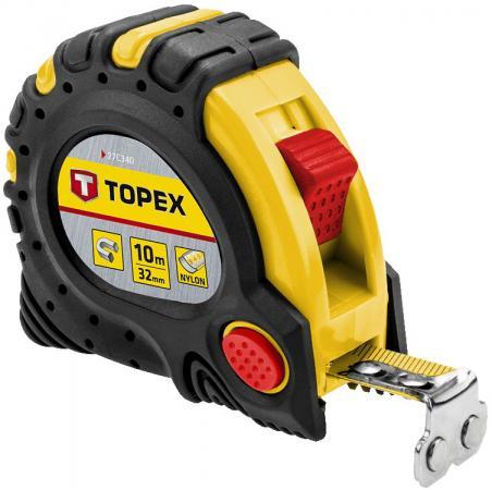 Рулетка TOPEX 27C340 10мx32мм клещи topex 16b440