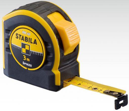 Рулетка Stabila BM 40 5мx19мм 17740 рулетка stabila тип bm 30 sp 2м х 12 5мм 16449