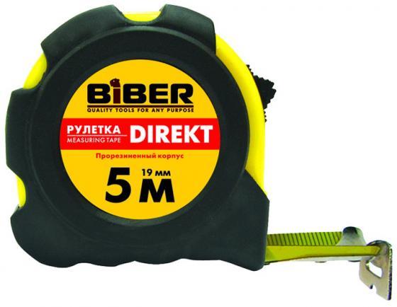 Рулетка Biber 40104 5мx25мм рулетка брелок biber 40131