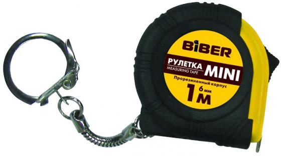 Рулетка Biber 40131 1мx6мм плоскогубцы biber 80863