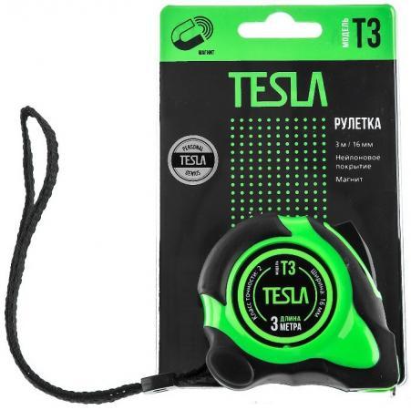 Рулетка Tesla T-3 3мx16мм