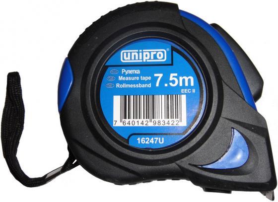Рулетка UNIPRO 16247U 7.5мx25мм набор диэлектрических отверток unipro 16331u