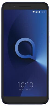 Смартфон Alcatel 3L 5034D металлик синий 5.5 16 Гб LTE Wi-Fi GPS 3G 5034D-2BALRU7 смартфон alcatel u5 3g 4047d черный синий 5 8 гб wi fi gps 3g 4047d 2calru1