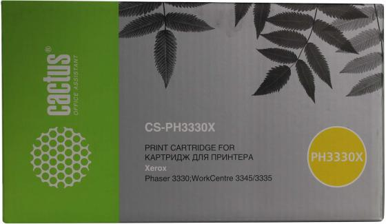 Тонер Картридж Cactus 106R03623 CS-PH3330X черный (15000стр.) для Xerox Phaser 3330/WC3335 тонер картридж 106r03623