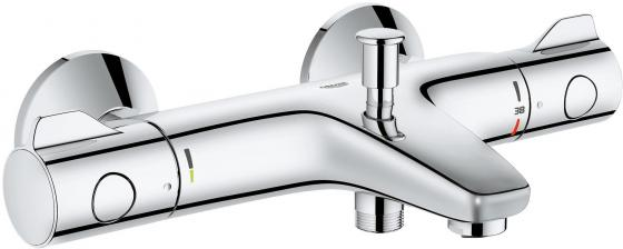 Смеситель термостатический для ванны GROHE GROHTHERM 800 34576000 с регулируемым аэраторомхром одно смеситель термостатический grohe 34195001 grohtherm 2000