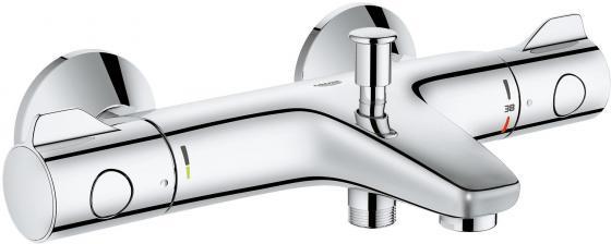 Смеситель термостатический для ванны GROHE GROHTHERM 800 34567000 хром однорычажный смеситель для ванны коллекция mono 35 g2215 однорычажный хром gappo гаппо
