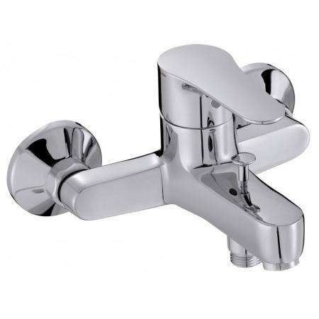 Смеситель JACOB DELAFON JULY E16033-4-CP для ванны и душа, хром смеситель для ванны коллекция salute e71098 cp двухвентильный хром jacob delafon якоб делафон