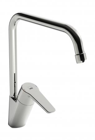 Смеситель ORAS Saga 3933F для кухни. высокий смеситель для ванны oras saga 3940y