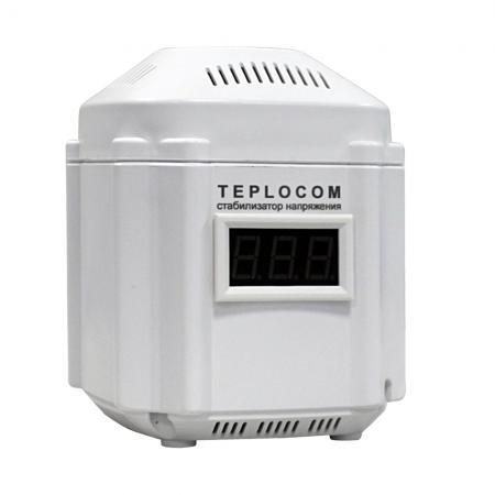 Стабилизатор напряжения Бастион Teplocom ST-222/500-И 1 розетка teplocom стабилизатор напряжения для котла teplocom st 222 500