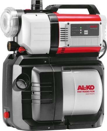 Насосная станция AL-KO HW 4000 FCS Comfort 1000Вт 4000л/ч глубина 9м высота 45м бак 17л