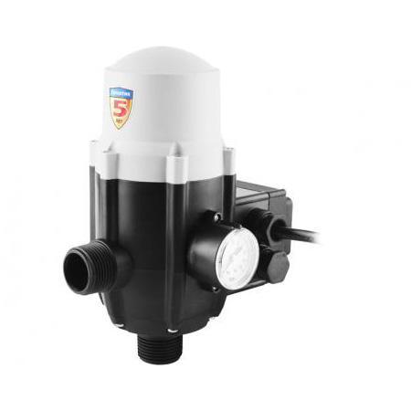 Блок ЗУБР ЗБА автоматики 1 давление срабатывания 1.5 атм макс подключаемых насосов 1.1кВт блок автоматики для газовых генераторов briggs