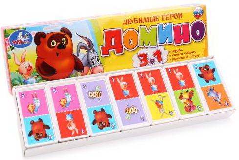 Настольная игра домино УМКА Любимые Герои К.Чуковский настольная игра домино стеллар хорошие знакомые 9