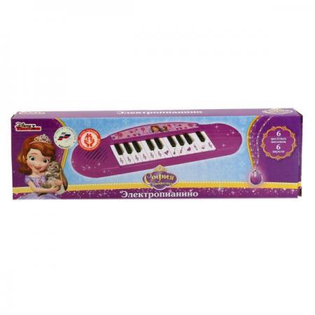 "ПИАНИНО ""УМКА"" ДИСНЕЙ. СОФИЯ. ОЗВУЧ., РУССИФИЦ. (6 ПЕСЕН, 13 КЛАВИШ) В КОР. 33*10*3СМ в кор.2*42шт умка пианино дисней софия"
