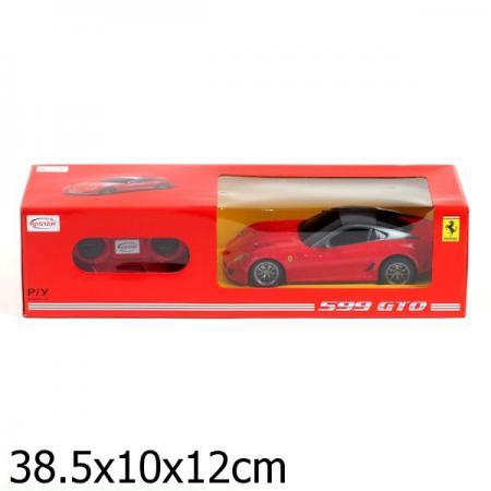МАШИНА Р/У RASTAR FERRARI 599 GTO 1:24, ЦВЕТ В АССОРТ. В КОР. в кор.18шт машина р у rastar range rover evoque 1 24 цвет в ассорт в кор в кор 18шт