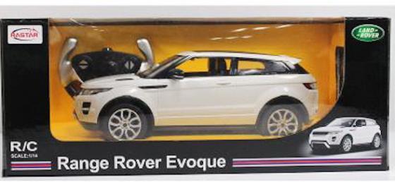 На р/управлении RASTAR Range Rover Evoque 1:24 цвет в ассортименте цена