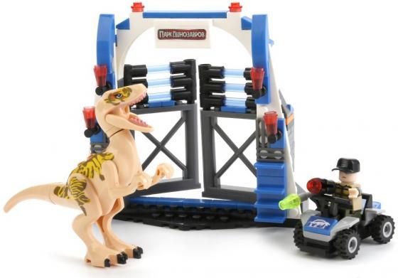Конструктор Город мастеров Динозавры: побег 209 элементов