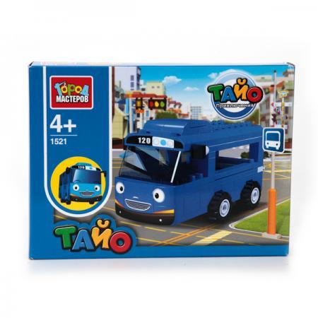 Конструктор Город мастеров Автобус Тайо BB-1521-R город мастеров конструктор автобус 124 детали город мастеров