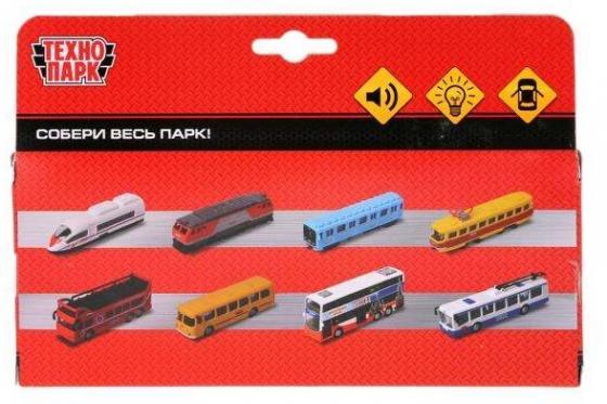 Автобус Технопарк Автобус разноцветный игрушка технопарк автобус ct10 025 sb