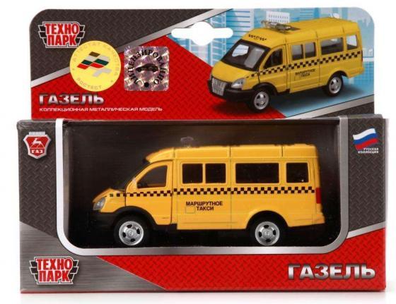 Инерционная машинка ТЕХНОПАРК Газель: Такси желтый спецтехника технопарк газель разноцветный