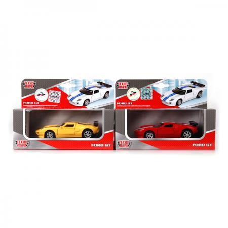 Автомобиль Технопарк FORD GT цвет в ассортименте 67311 автомобиль технопарк гонки цвет в ассортименте ebs868 r
