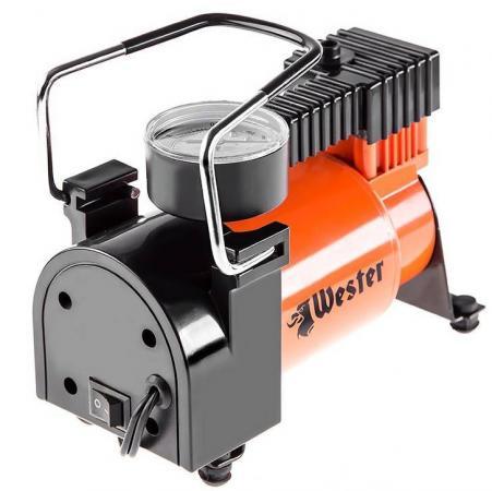 Компрессор автомобильный WESTER TC-3035 160Вт 35л/мин до 30 мин компрессор 35л мин метал корпус фонарь лейтенант vettler