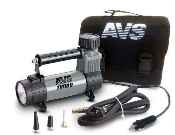 Компрессор автомобильный Turbo AVS KS 350 L 150Вт 12В 14А 35л/мин 10Атм пылесос avs turbo pa 1020 a80860s