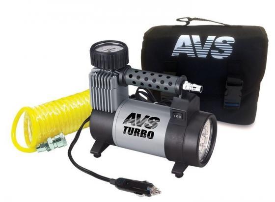 Компрессор автомобильный Turbo AVS KS 450 L 250Вт 12В 14А 45л/мин 10Атм компрессор автомобильный avs ks900
