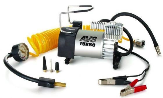Компрессор автомобильный Turbo AVS KS 600 250Вт 12В 23А 60л/мин 10Атм